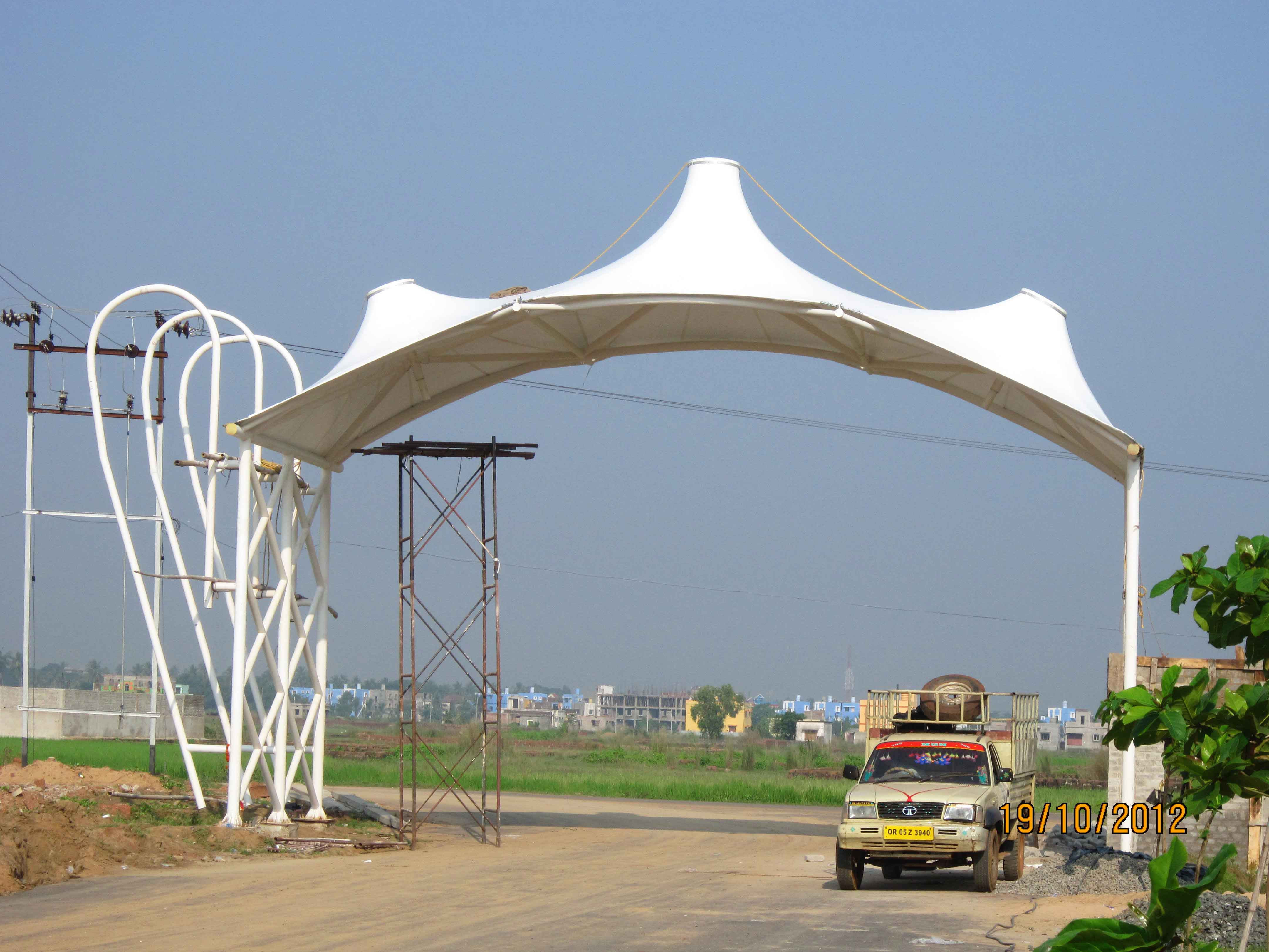 Entrance Gate Structure