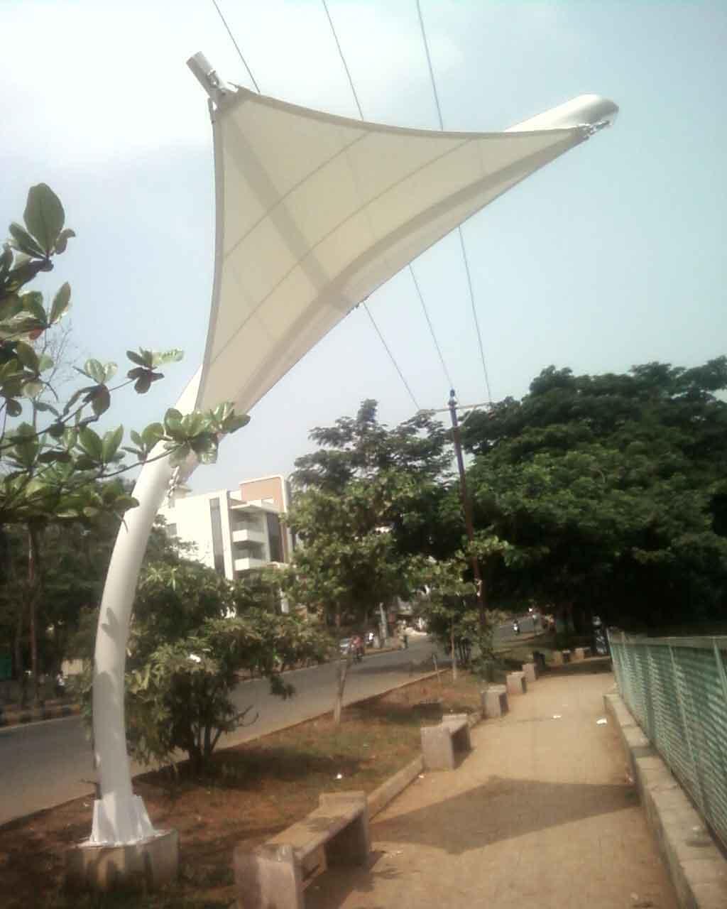 cidco shade sail, belapur cbd