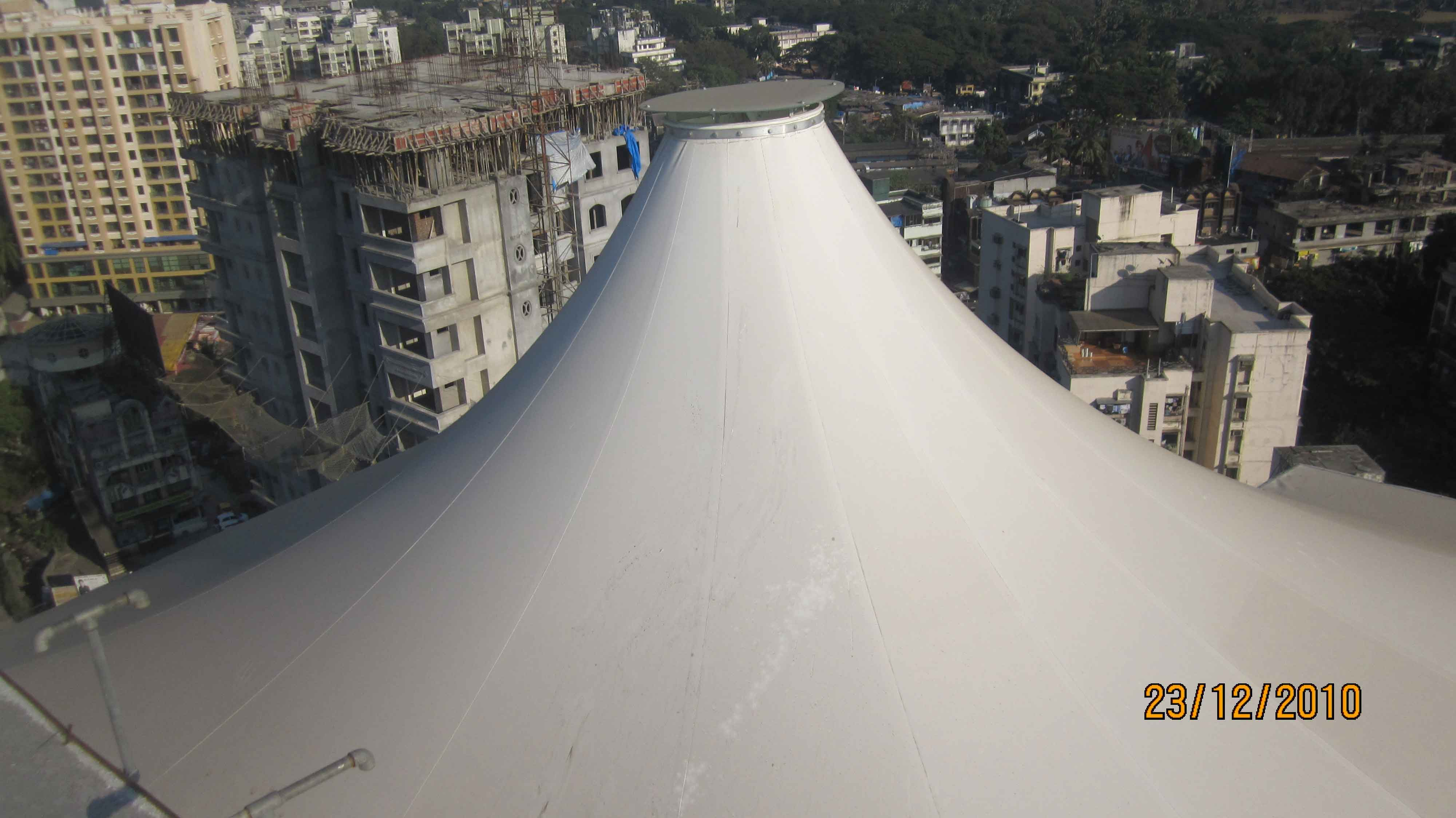 conarch roof fabric structure