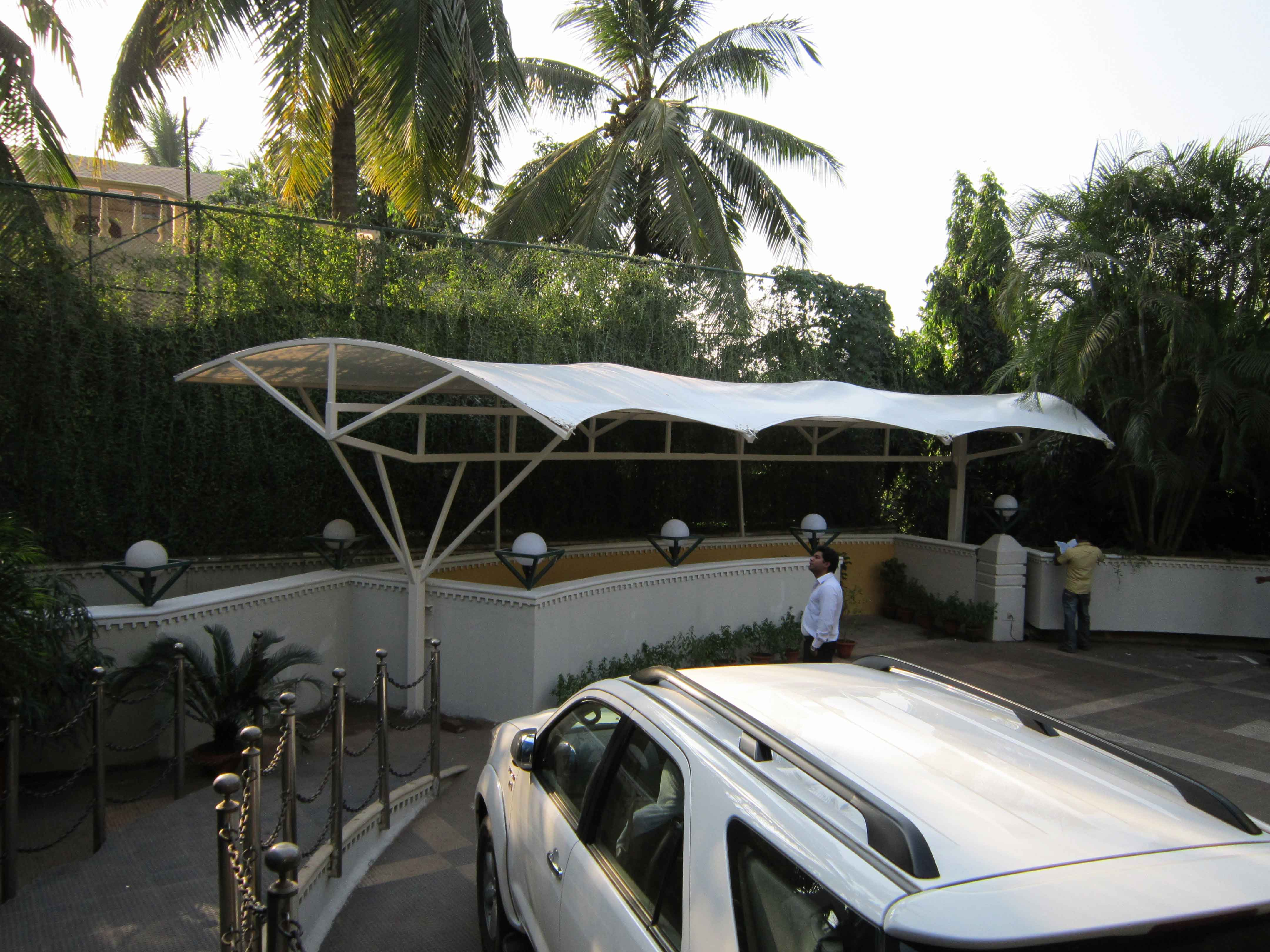 Landscape Fabric Structure of The Crown Hotel