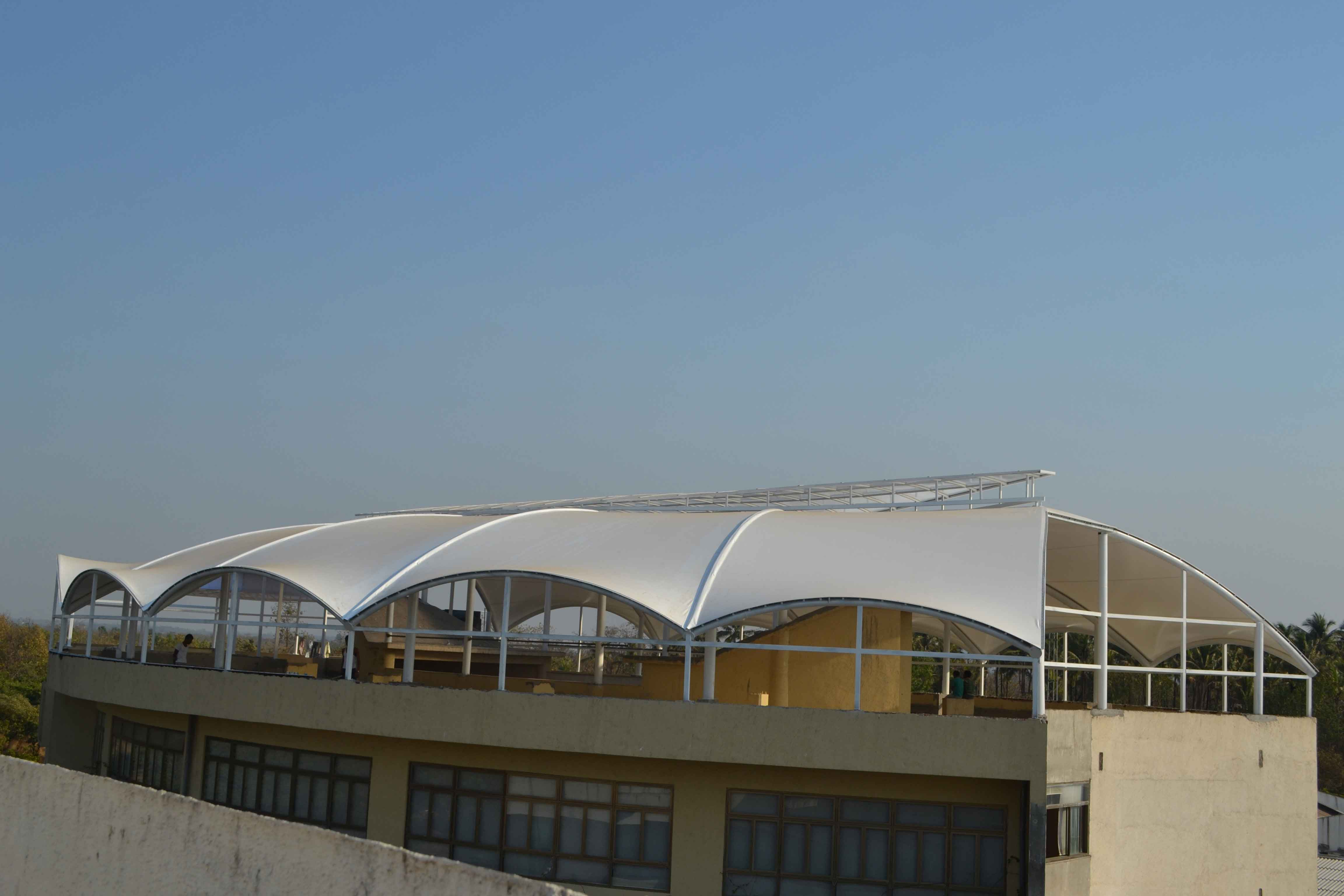 revara international school-roof-structure