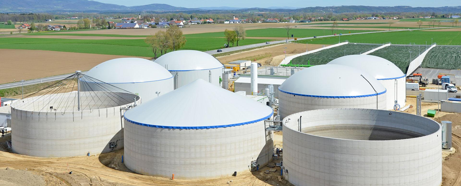 Bio-gas Fabric Tank